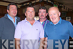 FINAL: Johnny Nolan, Tom Clifford, Jimmy Moloney and Danny Diggins (Tralee) who watched the World Cup Final between Spain and Netherlands on Sunday night in The Castle Bar, Upper Rock Street, Tralee......................................................................................... ........