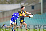 Ambrose Donovan of Dr Crokes and Sean Chaplin of Cratloe in the AIB Munster Senior Football Final played last Sunday in The Gaelic Grounds, Limerick.