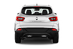 Straight rear view of 2015 Renault Kadjar Bose Edition 5 Door Suv 2WD Rear View  stock images