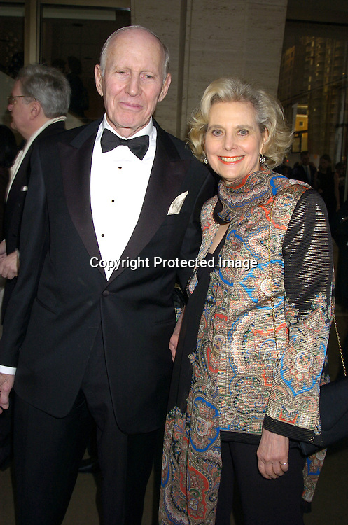 Robert Menschel and Hannah Pakula ..at The Film Society of Lincoln Center honor of Dustin Hoffman on April 18, 2005 at Avery Fisher Hall. ..Photo by Robin Platzer, Twin Images