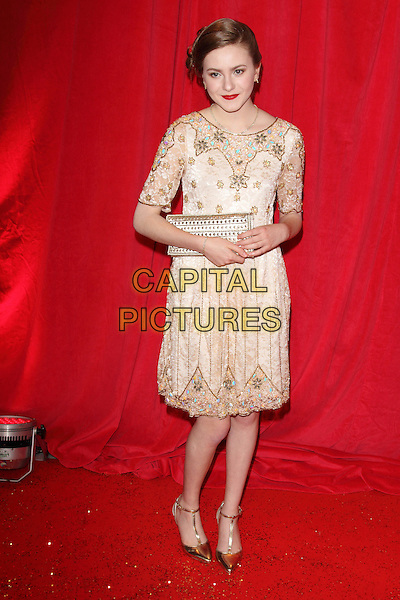 LONDON, ENGLAND - MAY 24: Persephone Swales Dawson attends the British Soap Awards at Hackney Empire on May 24, 2014 in London, England<br /> CAP/ROS<br /> &copy;Steve Ross/Capital Pictures