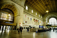 Toronto (ON) CANADA October 2001 - File Photo - .inside Union Station...photo by Pierre Roussel - Images Distribution