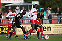 Patrick Agyemang of Stevenage lays off the ball. Stevenage v Crewe Alexandra - npower League 1 -  Lamex Stadium, Stevenage - 15th September, 2012. © Kevin Coleman 2012.
