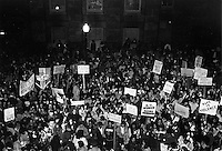 Candlelight March in New Bedford MA against rape and violence against women 3.14.83 after bar room gang rape