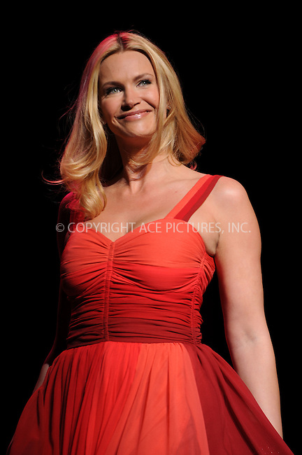 WWW.ACEPIXS.COM . . . . .....February 13, 2009. New York City.....Actress Natasha Henstridge, wearing Verrier, walks the runway at the Heart Truth Red Dress Collection during Mercedes Benz Fashion Week held at Bryant Park on February 13, 2009 in New York City...  ....Please byline: Kristin Callahan - ACEPIXS.COM..... *** ***..Ace Pictures, Inc:  ..Philip Vaughan (646) 769 0430..e-mail: info@acepixs.com..web: http://www.acepixs.com