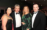 Eileen and Pat Sheahan, McSorleys Killarney, Gobnait and Don O'Leary, Mills Inn Ballyvourney, at the Irish Hotels Federation Conference Gala Dinner in The Malton Hotel, Killarney on Tuesday night. Picture: MacMonagle, Killarney.
