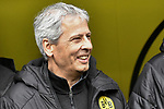 11.05.2019, Signal Iduna Park, Dortmund, GER, DFL, 1. BL, Borussia Dortmund vs Fortuna Duesseldorf, DFL regulations prohibit any use of photographs as image sequences and/or quasi-video<br /> <br /> im Bild Lucien Favre (Borussia Dortmund) Portrait, halbportrait, Bild, einzel, Einzelaufnahme, picture, single, solo, alleine <br /> <br /> Foto &copy; nordphoto/Mauelshagen