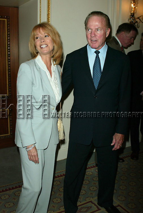 KATHIE LEE GIFFORD and FRANK GIFFORD <br /> Attending The American Theatre Wing's Annual Luncheon at the Pierre Hotel, New York City.<br /> April 14, 2003
