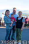 Home on holidays from USA visiting their native Brandon was Jerry Murphy , his wife Kristine and daughter Ciara with Nana Murphy at Brandon pier on Sunday last.