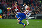 Atletico de Madrid's Saul Iniguez during the match of La Liga between Atletico de Madrid and Real Madrid at Vicente Calderon Stadium  in Madrid , Spain. November 19, 2016. (ALTERPHOTOS/Rodrigo Jimenez)