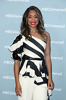 NEW YORK, NY - MAY 14: Gina Torres at the 2018 NBCUniversal Upfront at Rockefeller Center in New York City on May 14, 2018.  <br /> CAP/MPI/RW<br /> &copy;RW/MPI/Capital Pictures
