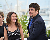 Virginie Ledoyen & Benicio Del Toro at the photocall for the Un Certain Regard Jury at the 71st Festival de Cannes, Cannes, France 09 May 2018<br /> Picture: Paul Smith/Featureflash/SilverHub 0208 004 5359 sales@silverhubmedia.com