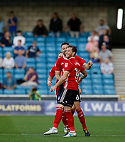 GOAL - Ipswich Town's Joe Garner ties the scores during the Sky Bet Championship match between Millwall and Ipswich Town at The Den, London, England on 15 August 2017. Photo by Carlton Myrie.