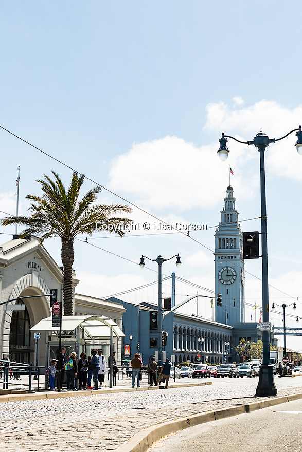 Ferry Building, San Francisco, California.