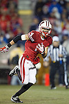 Wisconsin Badgers wide receiver Jared Abbrederis (4) carries the ball during an NCAA Big Ten Conference college football game against the Penn State Nittany Lions on November 26, 2011 in Madison, Wisconsin. The Badgers won 45-7. (Photo by David Stluka)