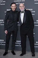 "Sergei Polunin, Albert Watson attend the gala night for official presentation of the Presentation of the Pirelli Calendar 2019 ""The cal"" held at the Hangar Bicocca. Milan (Italy) on december 5, 2018. Photo by  Actionpress Credit: Action Press/MediaPunch ***FOR USA ONLY***"