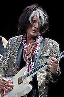Joe Perry of Aerosmith in concert at The Palace Of Auburn Hills in Auburn Hills, Michigan. July 5, 2012. Credit: MediaPunch Inc. *NORTEPHOTO.COM*<br />