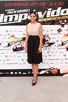 24.07.2012. Presentation at the Madrid Film Academy of the movie 'Impavido&acute;, directed by Carlos Theron and starring by Marta Torne, Selu Nieto, Nacho Vidal, Carolina Bona, Julian Villagran and Manolo Solo. In the image Marta Torne (Alterphotos/Marta Gonzalez) /NortePhoto.com*<br />