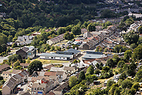 Elliots Town in New Tredegar, Caerphilly County, Wales, UK. Wednesday 08 August 2018