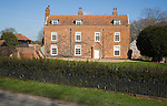 Large detached country farmhouse, Dallinghoo, Suffolk, England