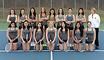 4-29-15, Huron High School girl's varsity tennis team