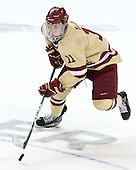 Pat Mullane (BC - 11) - The Boston College Eagles defeated the University of Minnesota Duluth Bulldogs 4-0 to win the NCAA Northeast Regional on Sunday, March 25, 2012, at the DCU Center in Worcester, Massachusetts.