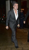 Lauren Silverman and Simon Cowell attend the Shooting Star Ball at the Royal Lancaster Hotel in London. NOVEMBER 8th 2019. Credit: Matrix/MediaPunch ***FOR USA ONLY***<br /> <br /> REF: LTN 193986