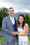 Sarah Kavanagh, Midleton Co Cork and Kieran McEnery Muckross Killarney who were married in a civil ceremony in the Killarney Oaks Hotel on Friday, best man was Michael McEnery, groomsman was Gerald McEnery, bridesmaid was Aoife O'Neill the couple will reside in Midelton Co Cork