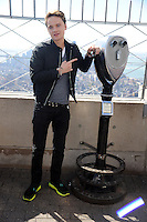 Conor Maynard visits the Empire State