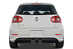 Straight rear view of a 2008 Volkswagen r32