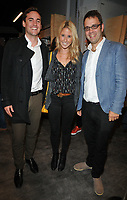 Nick Lawson and Fawn James and guest at the Bodyworlds human anatomy exhibition VIP launch, The London Pavilion, Piccadilly Institute, London, England, UK, on Thursday 04 October 2018.<br /> CAP/CAN<br /> &copy;CAN/Capital Pictures