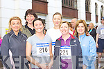 Mary Cussen, Caroline Kennedy, Aisling Hegarty, Louise Hallissey, Irene O'Leary and Bernie McAulliffe Killarney competing at the Killarney Lions Club 10km mini marathon on Sunday
