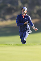 Rory McIlroy (NIR) walks to the 2nd green at Spyglass Hill during Thursday's Round 1 of the 2018 AT&amp;T Pebble Beach Pro-Am, held over 3 courses Pebble Beach, Spyglass Hill and Monterey, California, USA. 8th February 2018.<br /> Picture: Eoin Clarke | Golffile<br /> <br /> <br /> All photos usage must carry mandatory copyright credit (&copy; Golffile | Eoin Clarke)