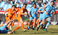 Nicolas Sanchez of the Jaguares during the Super Rugby match between the Vodacom Bulls and the Jaguares at Loftus Versfeld in Pretoria, South Africa on Saturday, 7 July 2018. Photo: Steve Haag / stevehaagsports.com