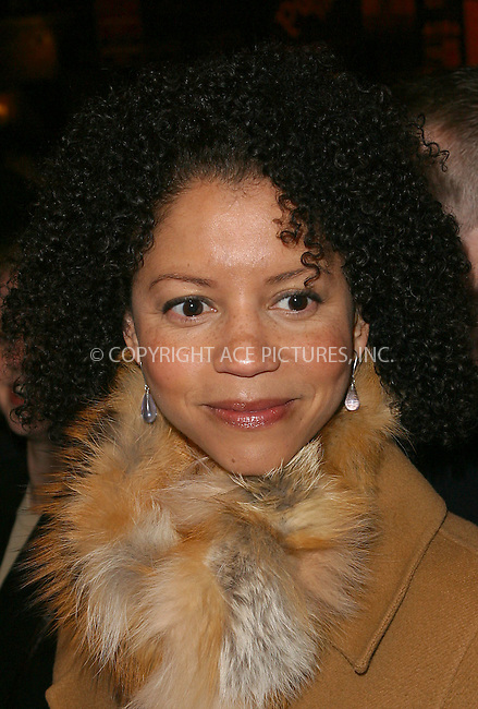 "Gloria Reuben attending the opening night for the Broadway Revival of August Wilson's ""Ma Rainey's Black Bottom."" New York, February 6, 2003. Please byline: Alecsey Boldeskul/NY Photo Press.   ..*PAY-PER-USE*      ....NY Photo Press:  ..phone (646) 267-6913;   ..e-mail: info@nyphotopress.com"