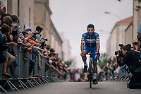 Fernando Gaviria (COL/Quick Step Floors) at the Team presentation in La Roche-sur-Yon<br /> <br /> Le Grand D&eacute;part 2018<br /> 105th Tour de France 2018<br /> &copy;kramon