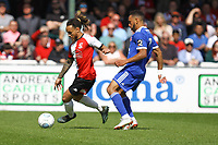 Reise Allassani of Woking and Brendan Kiernan of Welling United during Woking vs Welling United, Vanarama National League South Promotion Play-Off Final Football at The Laithwaite Community Stadium on 12th May 2019
