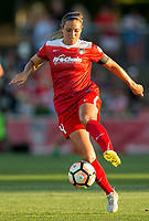 Boyds, MD. - Saturday, June 24 2017:Shelina Zadorsky during a regular season National Women's Soccer League (NWSL) match between the Washington Spirit and the Portland Thorns FC at Maureen Hendricks Field, Maryland SoccerPlex.<br />  The Washington Spirit defeated the Portland Thorns FC 1-0.