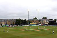 General view of play under the floodlights during Essex CCC vs Middlesex CCC, Specsavers County Championship Division 1 Cricket at The Cloudfm County Ground on 28th June 2017