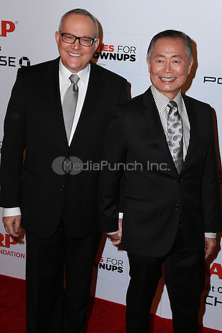 BEVERLY HILLS, CA - FEBRUARY 2: Brad Altman Takei, George Takei at the AARP 14th Annual Movies For Grownups Awards Gala at the Beverly Wilshire Hotel in Beverly Hills, CA on February 2, 2015. Credit: David Edwards/DailyCeleb/MediaPunch