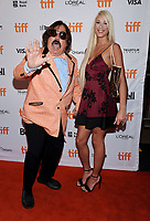11 September 2017 - Toronto, Ontario Canada - Tony Clifton, Tiara Tae. 2017 Toronto International Film Festival - &quot;Jim &amp; Andy: The Great Beyond&quot; Premiere held at Princess of Wales Theatre. <br /> CAP/ADM/BPC<br /> &copy;BPC/ADM/Capital Pictures