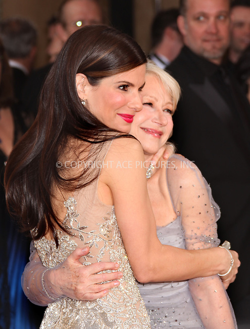 WWW.ACEPIXS.COM . . . . .  ....March 7 2010, Hollywood, CA....Actresses Sandra Bullock and Helen Mirren at the 82nd Annual Academy Awards held at Kodak Theatre on March 7, 2010 in Hollywood, California.....Please byline: Z10-ACE PICTURES... . . . .  ....Ace Pictures, Inc:  ..Tel: (212) 243-8787..e-mail: info@acepixs.com..web: http://www.acepixs.com