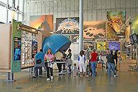 People exhibits, new California Academy of Sciences, San Francisco California