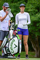 Michelle Wie (USA) looks over her tee shot on 18 during round 3 of  the Volunteers of America Texas Shootout Presented by JTBC, at the Las Colinas Country Club in Irving, Texas, USA. 4/29/2017.<br /> Picture: Golffile | Ken Murray<br /> <br /> <br /> All photo usage must carry mandatory copyright credit (&copy; Golffile | Ken Murray)