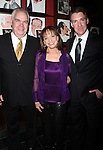 """Michael Mulheren, Valerie Harper & Brian Hutchison<br /> attending the Broadway Opening Night After Party for """"Looped"""" at Sardi's Restaurant in New York City.<br /> March 14, 2010"""