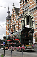 Locomotive Type 10 at the Schaerbeek train station - Brussels