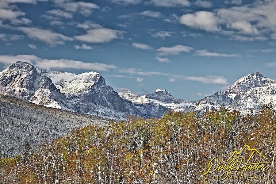 Autumn, Cutbank Creek Valley at Glacier National Park