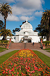 Conservatory, Golden Gate Park, San Francisco, California, USA.  Photo copyright Lee Foster.  Photo # california108779