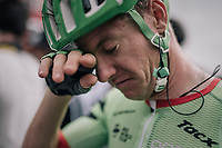 Simon Clarke (AUS/Cannondale-Drapac) post-finish<br /> <br /> 104th Tour de France 2017<br /> Stage 8 - Dole &rsaquo; Station des Rousses (187km)