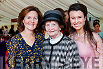 Annette McCarthy, Frances Galvin and Vera Anne McCarthy, Listowel, enjoying Ladies Day at Listowel Races on Friday last.